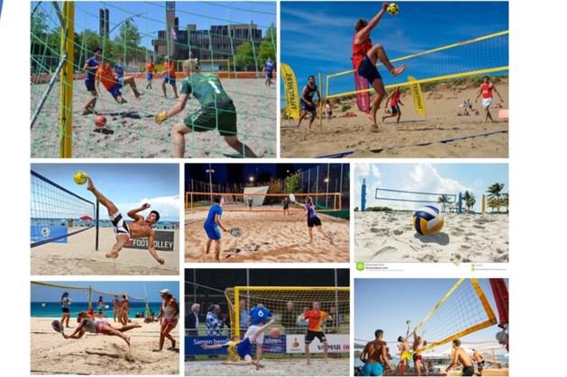 Volleybalclub en Raaijhal Overloon leggen beachpark aan