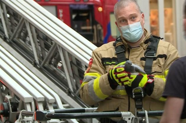 Brandweer redt duif in centrum van Maastricht