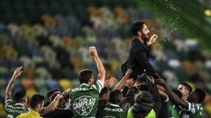 Sporting Lissabon viert eerste landstitel in negentien jaar tijd