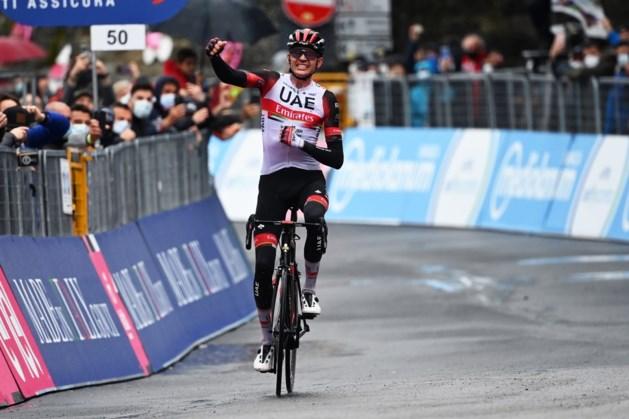 Amerikaan Dombrowski wint doorweekte vierde etappe Ronde van Italië