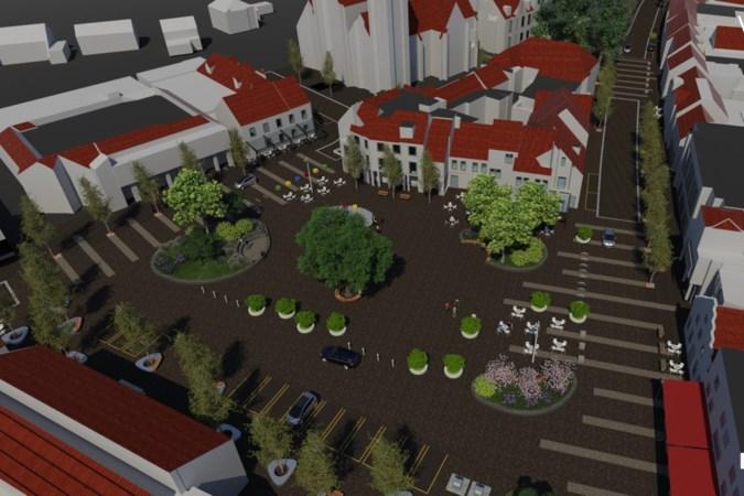 Centrum van Reuver op de schop: verkeer zoekt zijn eigen weg op nieuw Raadhuisplein