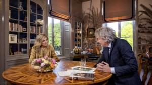 Van Nieuwkerk interviewde koningin Máxima, uitzending maandag