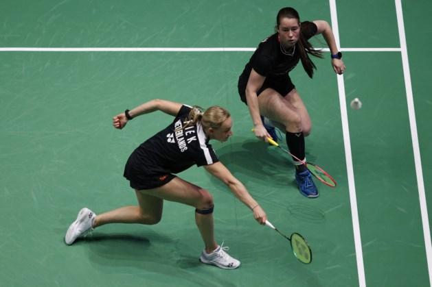 Badmintonsters Seinen en Piek naar halve finales EK