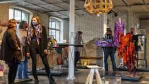 Pop-up stores van creatievelingen in Loods 5: Kroonluchters van duizenden reserveonderdelen, made in Maastricht