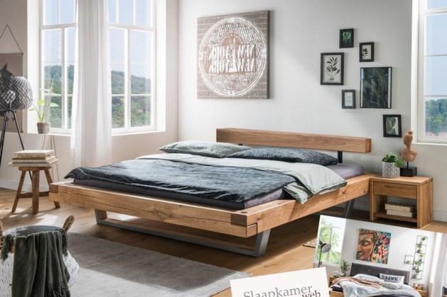 Een massief houten bed is dé nieuwe trend!