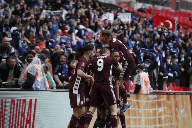 Tielemans schiet Leicester op fraaie wijze naar winst FA Cup