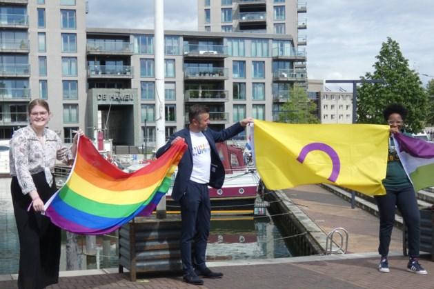 Regenboogvlaggen kleuren Weert en Roermond