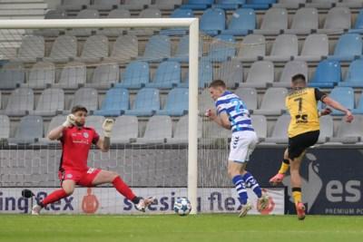 Thijmen Goppel stuurt Roda JC met Messiaans doelpunt tegen De Graafschap richting tweede ronde van de play-offs