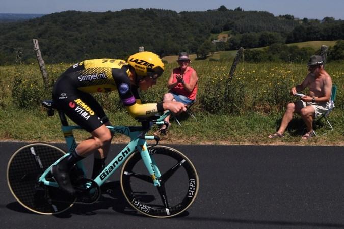 Mike Teunissen speelt geen rol van betekenis in koninginnenrit in Ronde van Hongarije