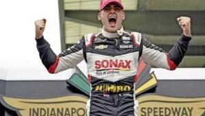 Succes Kalmthout in IndyCar: ik heb na het winnen van een race nog nooit gehuild, maar dit was de eerste keer