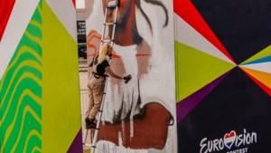 Houthemse Yasja Ligtelijn 'kleurt' entree van Eurovisie Songfestival bij Ahoy