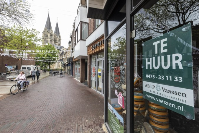 Nieuwe aanpak winkelleegstand dringend nodig in Roermondse binnenstad