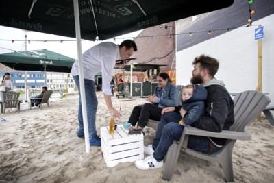 Heerlen heeft met 'Buiten' een eigen strandje en beachbar in de Stadstuin