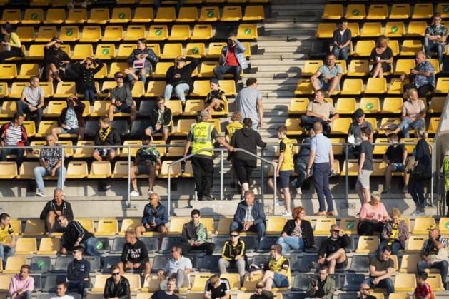 Publiek mogelijk bij voetbalwedstrijden in de play-offs, voor uitspelende teams is public viewing in eigen stadion mogelijk