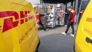 Pakketbezorgers DHL krijgen in 4 jaar bijna 19 procent meer loon