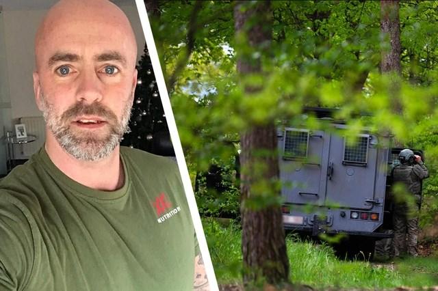 Klopjacht op Belgische militair: vier antitankwapens gevonden, schoten gehoord in natuurpark