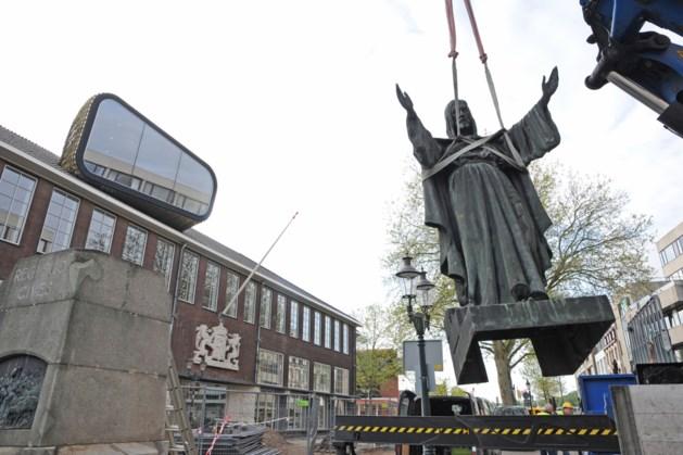 Honderdjarig Heilig Hartbeeld op Keulsepoort in Venlo krijgt een schoonmaakbeurt
