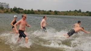 Zwemloop Grensrunners in en rondom strandbad Drakenrijk