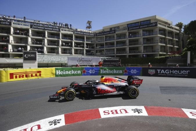Vierde tijd Verstappen, Ferrari heerst in tweede, vrije training Monaco