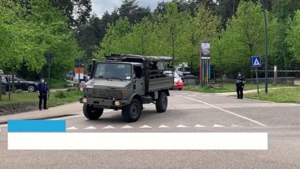 Strenge bewaking bij Limburgse grens vanwege gezochte militair