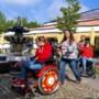 'In een gewoon vakantiepark zijn wij met die twee rolstoelen vaak zelf de grootste attractie'