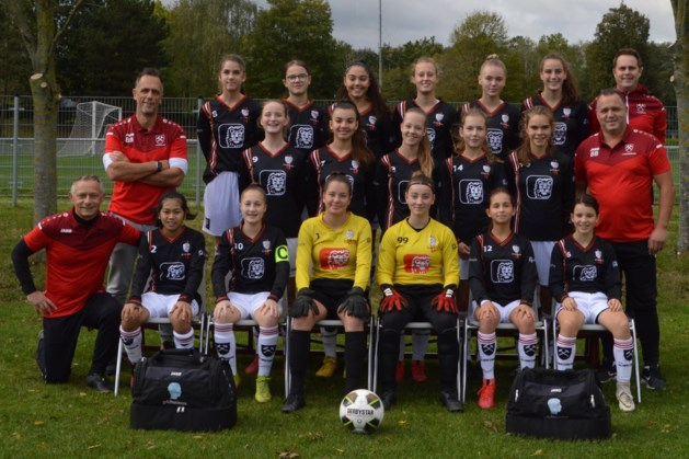 'Angels in Black' van VV Schaesberg naar nationale topklasse