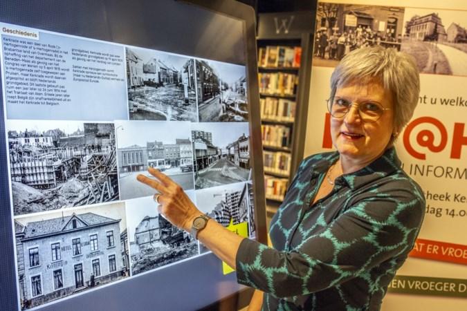 Met het 'Verhaal Lokaal' scherm komt Kerkrade in aanraking met zijn geschiedenis: 'Als de HuB weer open is, kom met leuke verhalen en foto's!'