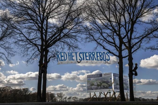 Nieuwe demonstratie actiegroep Red het Sterrebos in Born