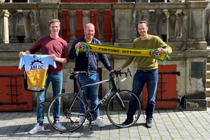 'Tour de Handhaving' omgedoopt tot zegetocht om seizoenskaarten Fortuna Sittard bijeen te fietsen