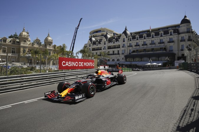 Verstappen de snelste in laatste training voor GP Monaco