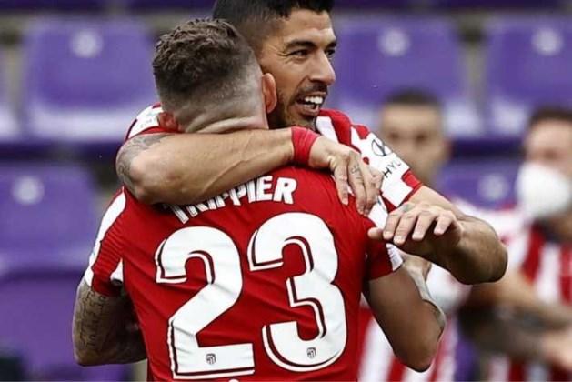 Suárez helpt Atlético met winnende treffer aan Spaanse titel