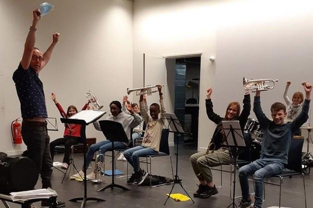 Jeugd Fanfare St. Cecilia mag weer samen musiceren