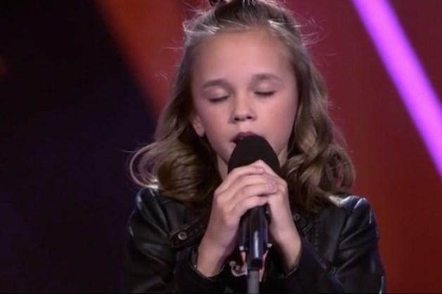Emma Kok uit Kerkrade door naar de 'The Sing Off' van The Voice Kids