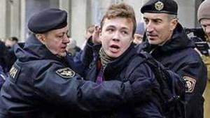 'Wit-Rusland dwingt Ryanair-vlucht te landen om journalist op te pakken'