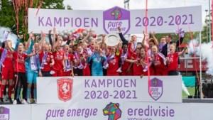 Lynn Wilms verovert met Twente titel in de eredivisie