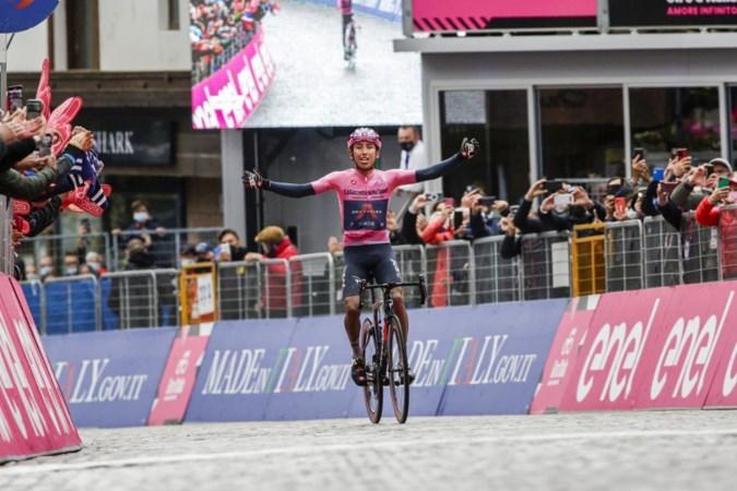 Bernal is niet te stoppen deze Giro: 'Ik wilde iets speciaals doen'