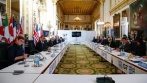 'G7-landen dicht bij akkoord over belastingplan'