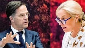 Stevige clash Rutte en Kaag over Israël