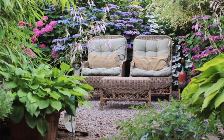 Heerlijke plek creëren in de tuin of op het balkon