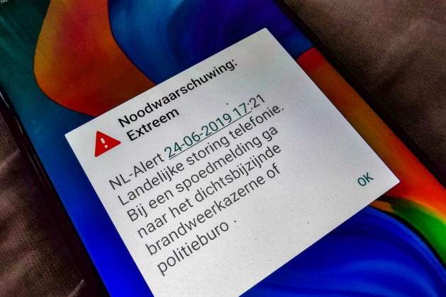 NL-Alert stuurt 7 juni halfjaarlijks testbericht naar alle mobieltjes