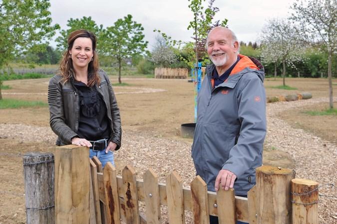 Miljeu leedje van Ben Verdellen zorgt voor groene vingers met aanleg natuurparkje in Boekend