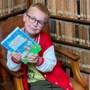 Luuk (8) uit Well zit als benjamin namens Limburg in het leesteam van de Kinderboekenweek