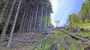 Giro past parcours aan uit respect voor slachtoffers ongeluk kabelbaan