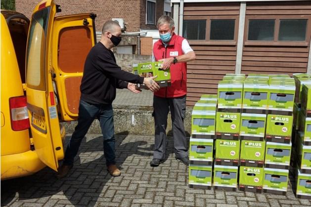 Rode Kruis afdeling Geleen stelt boodschappenpakketten ter beschikking voor hulpinstanties