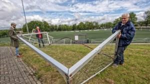 Vandalen houden huis op sportcomplex van Alfa Sport in Oirsbeek