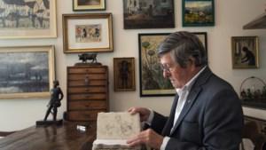 Lambert slaapt en doucht tussen de kunst: 'Andere jongens kochten een brommer, ik mijn eerste schilderij'