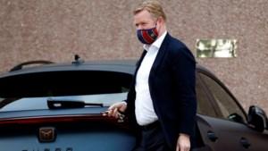 Koeman praat met voorzitter Laporta van Barcelona: mag de trainer in Barcelona blijven?