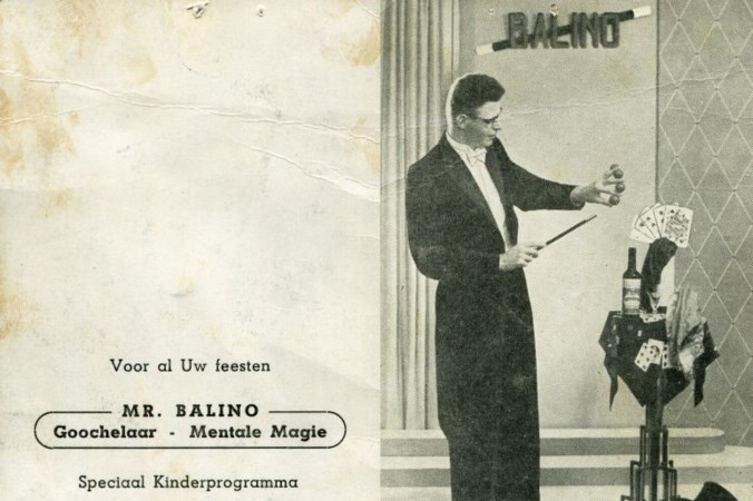 Geboren Fries Kobus van Balen die na de oorlog in Heythuysen belandde maakte furore als Mr. Balino