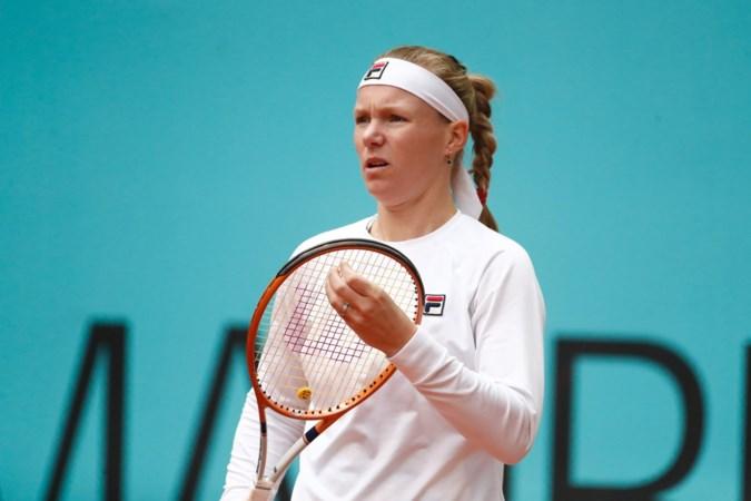 Kiki Bertens met de moed der wanhoop naar Roland Garros