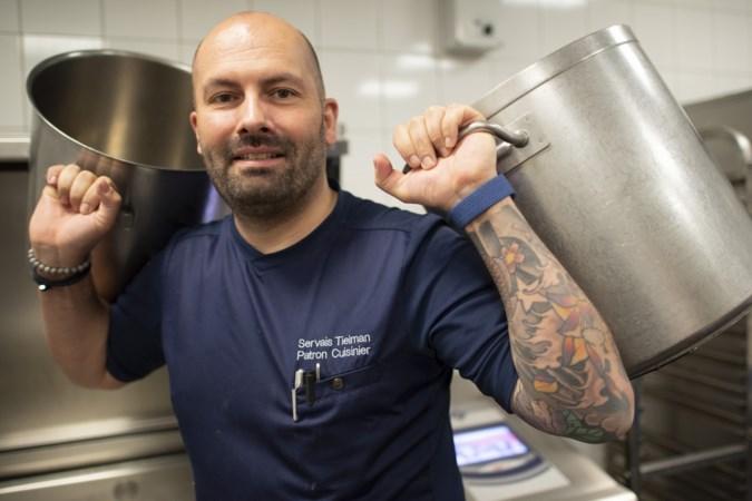 Beluga-chef Servais Tielman uit Maastricht gaat ook voor zijn collega's koken